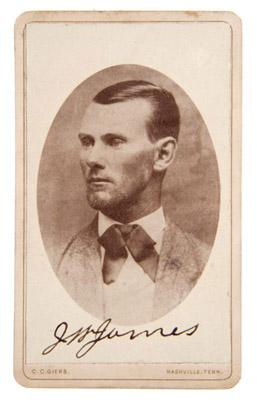 This, the only known signed photo of notorious outlaw Jesse James, sold at auction today for $51,240.