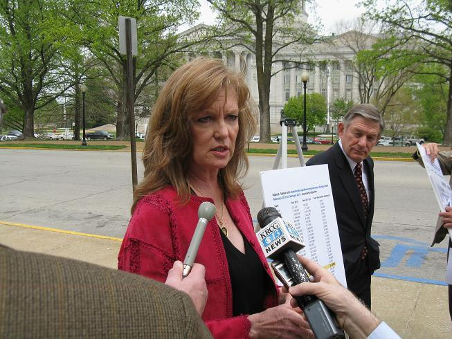 State Senator Luann Ridgeway (R, Smithville) wants Missouri to dump its state income tax in favor of a consumption tax.