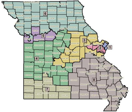 Mo. House OKs another proposed redistricting map | St. Louis Public ...