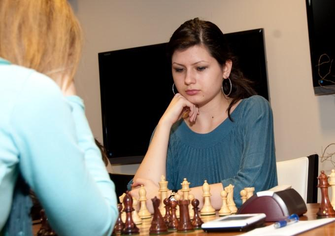 19 year-old Alisa  Melekhina is among the top 10 female players in the world.