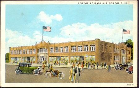 Belleville Turner Hall made it to Landmarks Illinois' 2011 list of most endangered historic places.