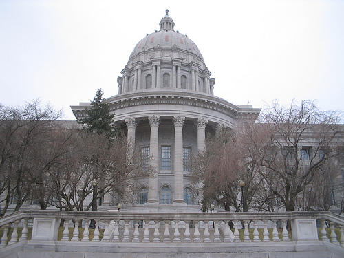The Missouri Capitol Building. State lawmakers have given final approval to a bill renewing federally funded jobless payments for thousands of Missourians.