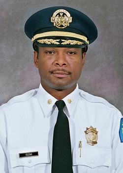 St. Louis Police Chief Dan Isom.
