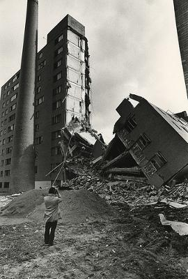 Partially demolished Pruitt-Igoe (Daniel Magidson)