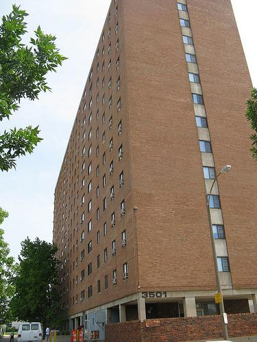The city of St. Louis has received a $7.8 million federal grant to build new housing for the residents of the last tower at the Arthur Blumeyer public housing complex just north of Grand Center.