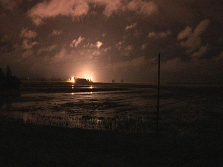 The U.S. Army Corps of Engineers breached the levee at Birds Point as part of the activation of the floodway on the night of May 2, 2011. The process to rebuild the levee to its original height is expected to conclude by the end of 2012.
