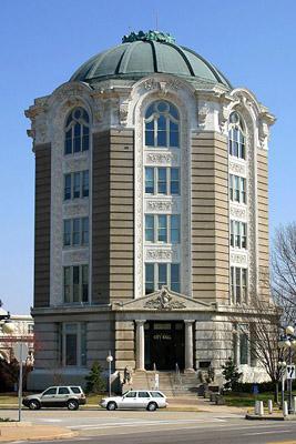 City Hall in University City, Mo.