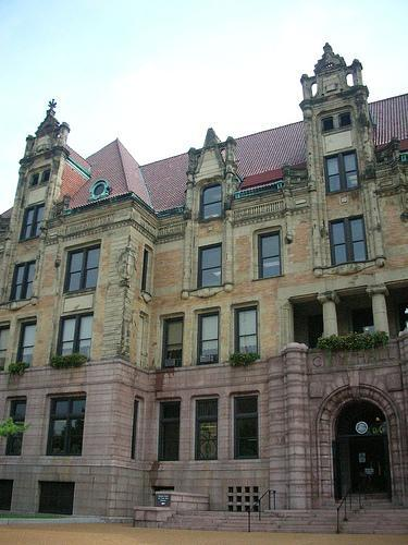 St. Louis City Hall.
