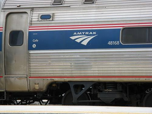 Flooding along the Missouri River has forced Amtrak to suspend two trains between St. Louis and Kansas City.