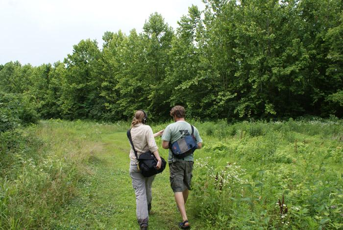 St. Louis Public Radio Producer Libby Franklin and Ryan Maher strike out looking for chanterelles.