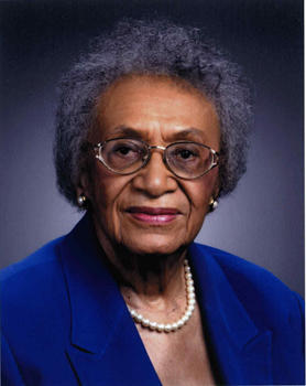 Frankie Freeman, long-time St. Louis attorney and civil rights activist.