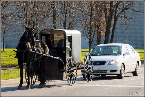 Lancaster County, Pennsylvania, November 2009. Amish country.