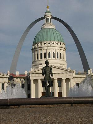 Kiener Plaza in St. Louis.