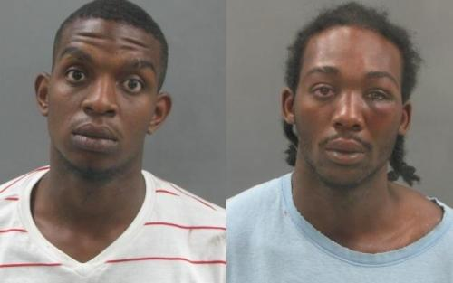 St. Louis Police arrested Michael Paynes and Calvin M. Willis Saturday night in connection with 20 car break-ins near Union Station June 29, 2011.