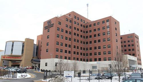 "The Secretary of Veterans Affairs says the John Cochran VAMC, pictured here, has ""turned a corner"" after a rough 2010."