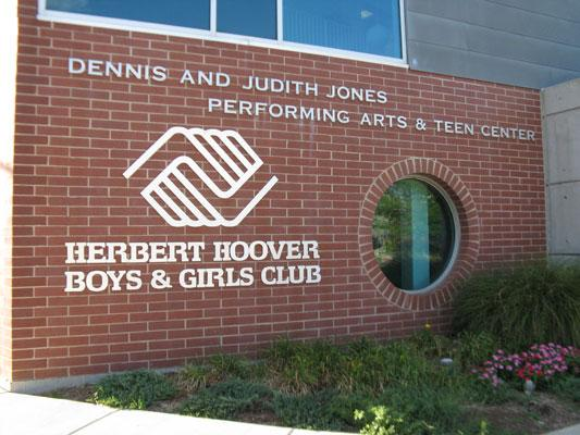 The Herbert Hoover Boys & Girls Club sits directly across the street from the former Carter Carburetor plant.