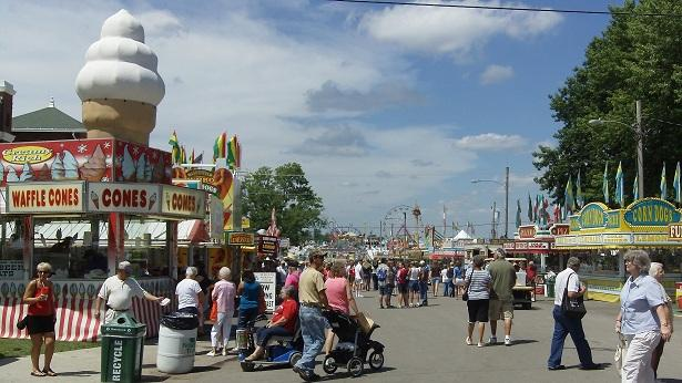 The Misssouri State Fair in Sedalia.