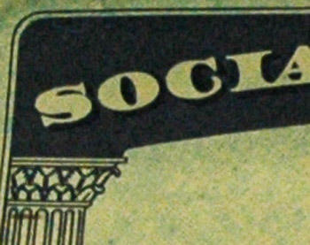 social security card corner