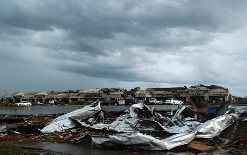 Debris from the May tornado that ripped through Joplin, Mo. The federal government will cover 90 percent of the costs in the hard-hit area designated for FEMA's enhanced cleanup payments, and the state of Mo. will pick up the remaining 10 percent.
