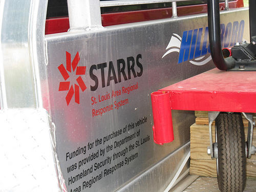 Logo of STARRS, the St. Louis Area Regional Response System
