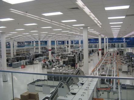 The interior of Express Scripts in St. Louis. Express Scripts has filed a lawsuit against Walgreen Co.
