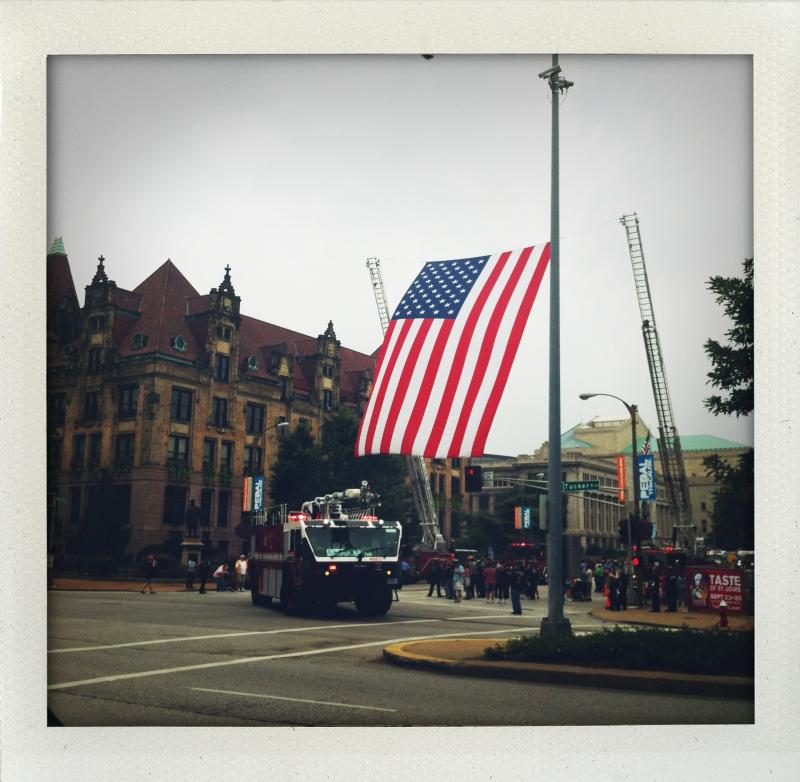 St. Louis City Hall on Sunday, September 11, 2011. (photo by Libby Franklin)
