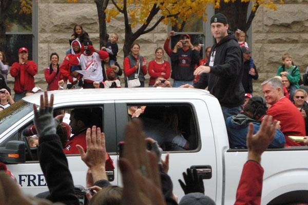 David Freese 2011 World Series Car
