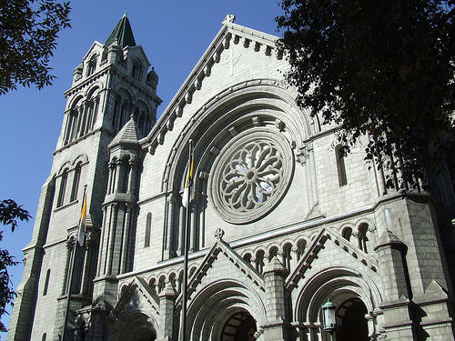 Cathedral Basilica of St. Louis. Under a new Missouri law, it is a misdemeanor to intentionally disrupt a house of worship.