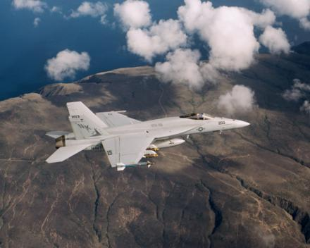The U.S. Department of Defense has included an order of 16 F/A 18 Super Hornets in their budget for the next two years.