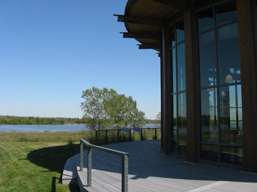 The new Audubon Center at the Riverlands Migratory Bird Sanctuary in West Alton.