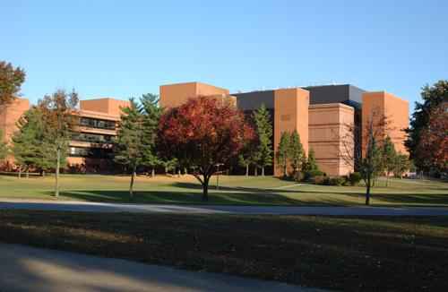 The James W. Neckers building on the SIUC campus.