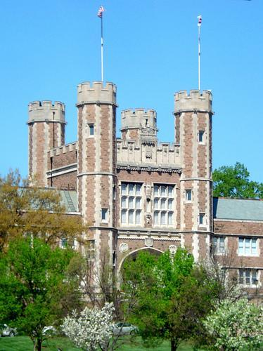 The campus of Washington University in St. Louis.