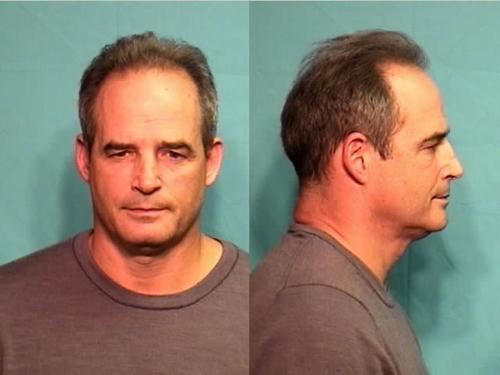 A booking photo of Gary Pinkel following his arrest for DWI in Columbia, Mo.