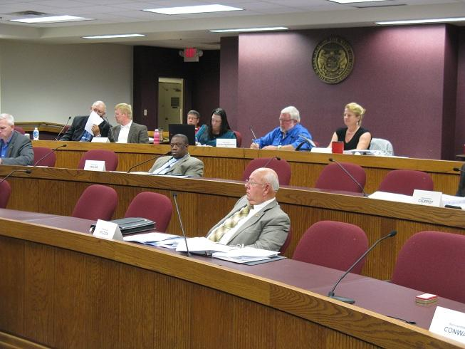 The Mo. House Interim Committee on 911 Access holds its final meeting of the year at the State Capitol.