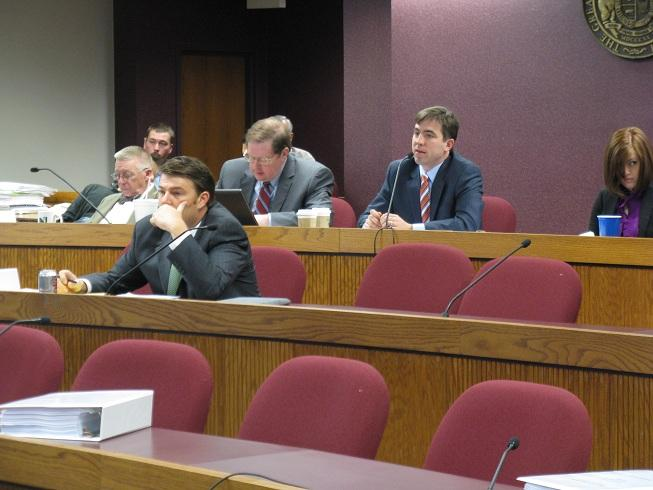 The Mo. House Interim Committee on Government Oversight and Accountability meeting Nov. 29th, 2011, at the Mo. Capitol.