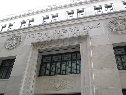 The St. Louis Federal Reserve is part of a central bank system that includes 12 regional reserve banks and a board in Washington, D.C.