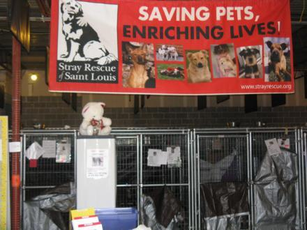 Stray Rescue's facilities in St. Louis.