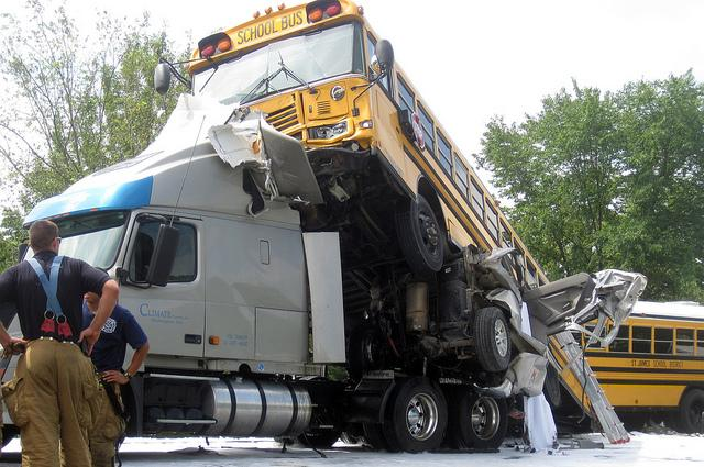 This fatal wreck along Interstate 44 in March 2010 was caused by a driver who was texting. A state senator hopes this accident, and a federal recommendation, lead to a statewide ban on texting while driving.