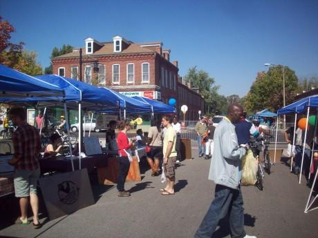 Old North was one of two St. Louis neighborhoods to participate in this year's Open Streets festival.