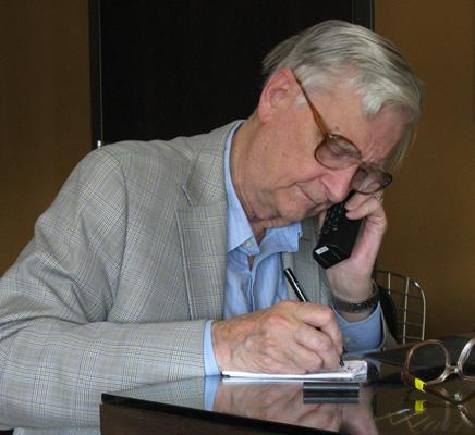 At 82 years old, Edward O. Wilson continues to work and publish in the fields of ecology and evolution.