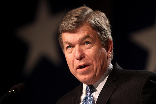 Mo. Republican Sen. Roy Blunt is recovering after doctors at George Washington University successfully implanted a coronary stent on Thursday.