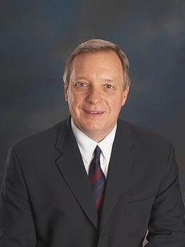 Sen. Dick Durbin, (D-Ill.) says he wants the Defense of Marriage Act repealed as it relates to federal benefits.