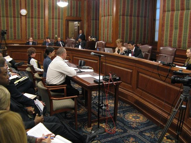 A Mo. Senate committee hears testimony on legislation designed to address the Mo. Supreme Court's ruling in Turner v. Clayton, allowing students from unaccredited districts to transfer to adjacent accredited ones.
