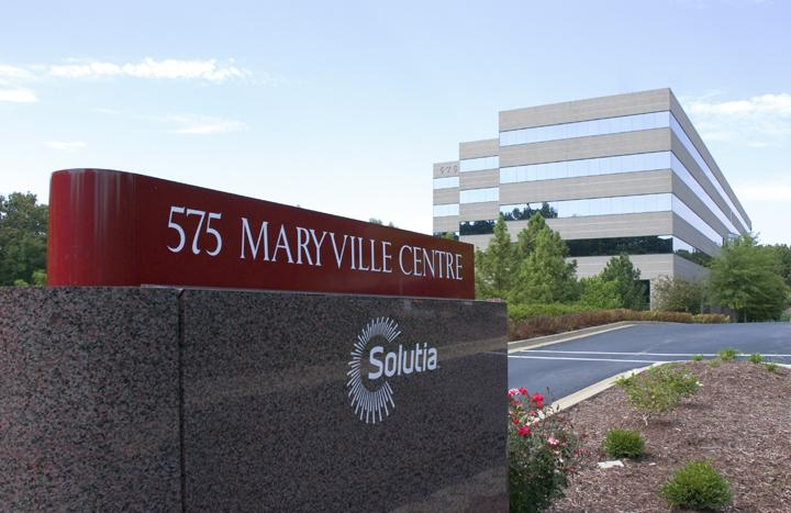 Solutia's St. Louis headquarters.