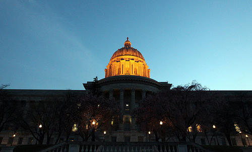 Missouri Capitol in Jefferson City.