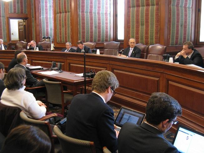 The Mo. Senate's Committee on Small Business, Insurance and Industry meets at the Mo. Capitol.