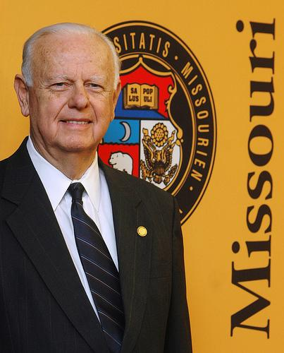 Gordon Lamb was the interim president of the University of Missouri System in 2007 and 2008.