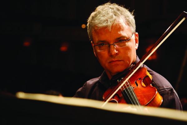 Violinist David Halen.