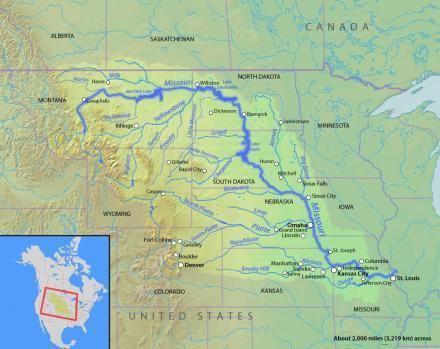 Corps Meets Deadline In Missouri River Levee Repairs  St