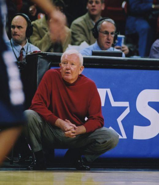 Former SLU Billikens basketball coach Charlie Spoonhour, shown here at the helm of the UNLV Running Rebels, has died at the age of 72.